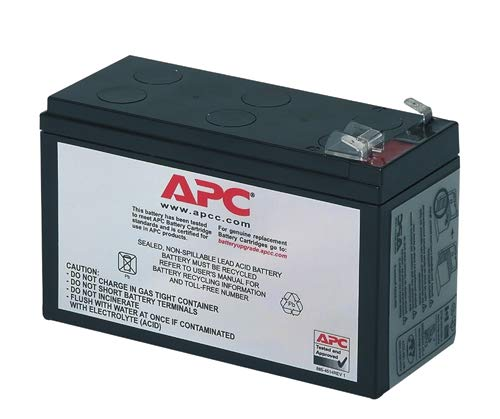 Powery replacement rechargeable battery for USV APC Back-UPS ES 700 Lead-Acid 12V