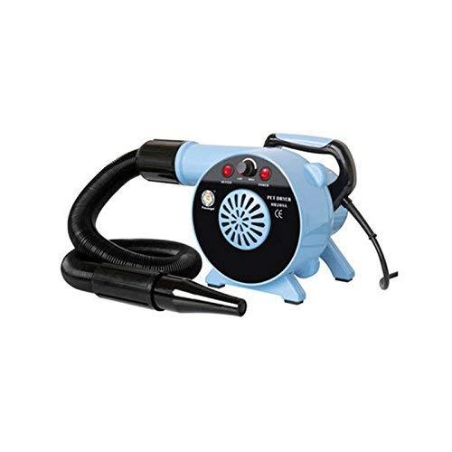 Cxjff Jlxl Dog Dryer 2500W Agua for Mascotas for soplador Secador de Pelo Windy Low Noise (Color : Blue)