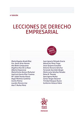 Lecciones De Derecho Empresarial 4ª Edición 2020 (Manuales de Economía y Sociología)