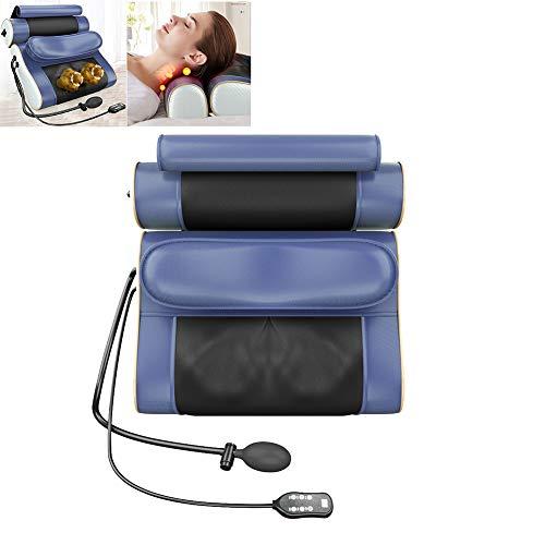 Multifunctionele Massage Verwarmd Nekkussen, Ergonomische Nek Schouder Terug Kneden Fysiotherapie Warm Kompres Elektrische Massage Kussen