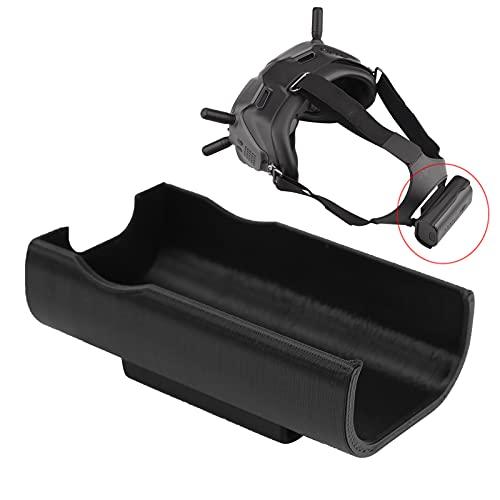 Gafas de Vuelo Soporte de batería de plástico, Gafas de Vuelo Resistentes al Desgaste Clip Trasero de batería Tamaño pequeño para Gafas de Vuelo combinadas dji FPV
