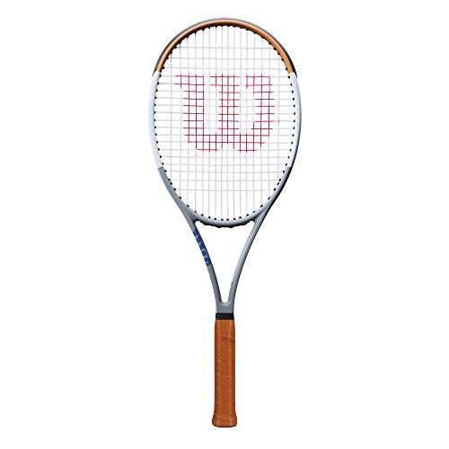 Wilson Blade 98 16X19 V7.0 Roland Garros LTD Gris / Ocre (305 g) 2020