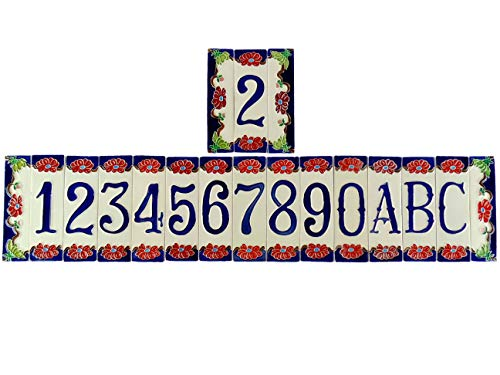 fd-bolletta arredamento e illuminazione Hausnummern Keramik,hausnummernschild,hausnummer keramik italien nf Maße:Höhe 15cm,breite 4,5cm,dicke 0,8cm