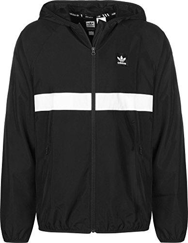 adidas BB Windjacke XL schwarz / weiß