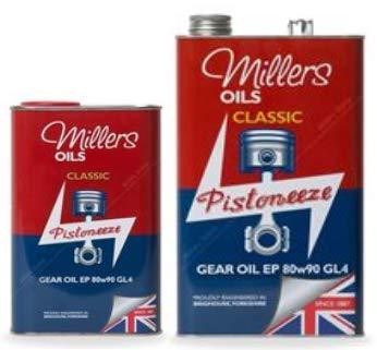 Millers Oil Pistoneeze Classic Gear Oil EP 80w-90 GL4-6 litros