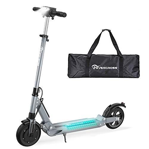 RCB Elektroroller Electric Scooter 30km/h, 350W Motor, Anti-Rutsch-Reifen und LCD-Bildschirm, wasserdicht, E-Scooter für Erwachsene und Jugendliche