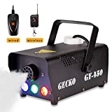 Best Fog Machines - Fog Machine GECKO Smoke Machine Hood Portable LED Review