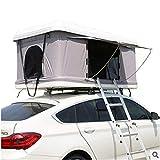 Equipamiento de viaje para dos personas al aire libre, autoconducción, para viajes de ocio, camping y viaje, no es necesario instalar una tienda de campaña para una conducción rápida