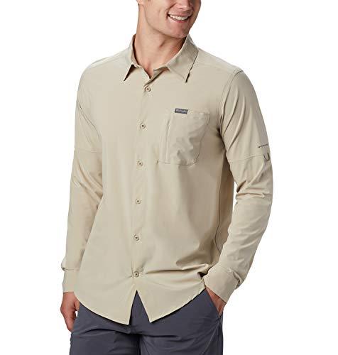 Columbia Herren, Triple Canyon, Langärmeliges Hemd, Robust, Beige (Fossil), XL