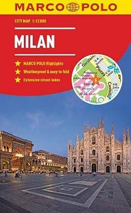 Marco Polo City Map Milan