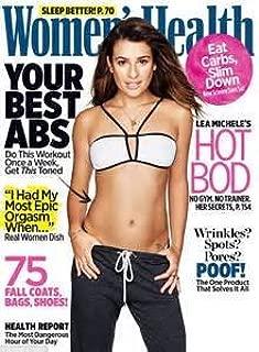 Women's Health Magazine (November, 2015) Lea Michele Cover