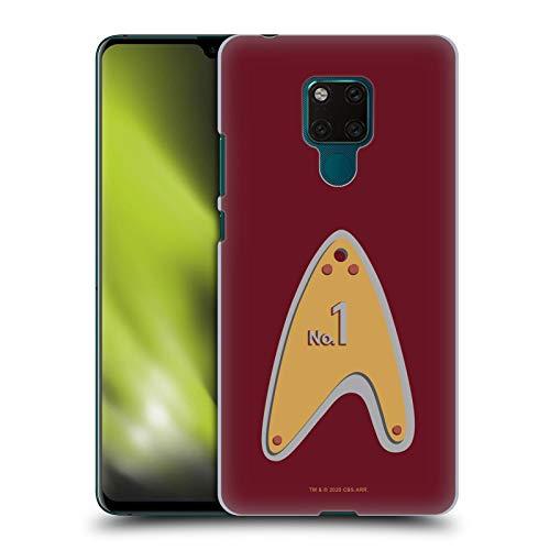 Head Case Designs sous Licence Officielle Star Trek Picard Numéro 1 Insignes Coque Dure pour l'arrière Compatible avec Huawei Mate 20 X 5G