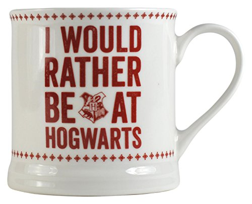 Harry Potter Mug Vintage Hogwarts Slogan Half Moon Calici Tazze