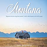 Montana Calendar 2022: Gifts for Friends and Family with 12-month Monthly Calendar in 8.5x8.5 inch