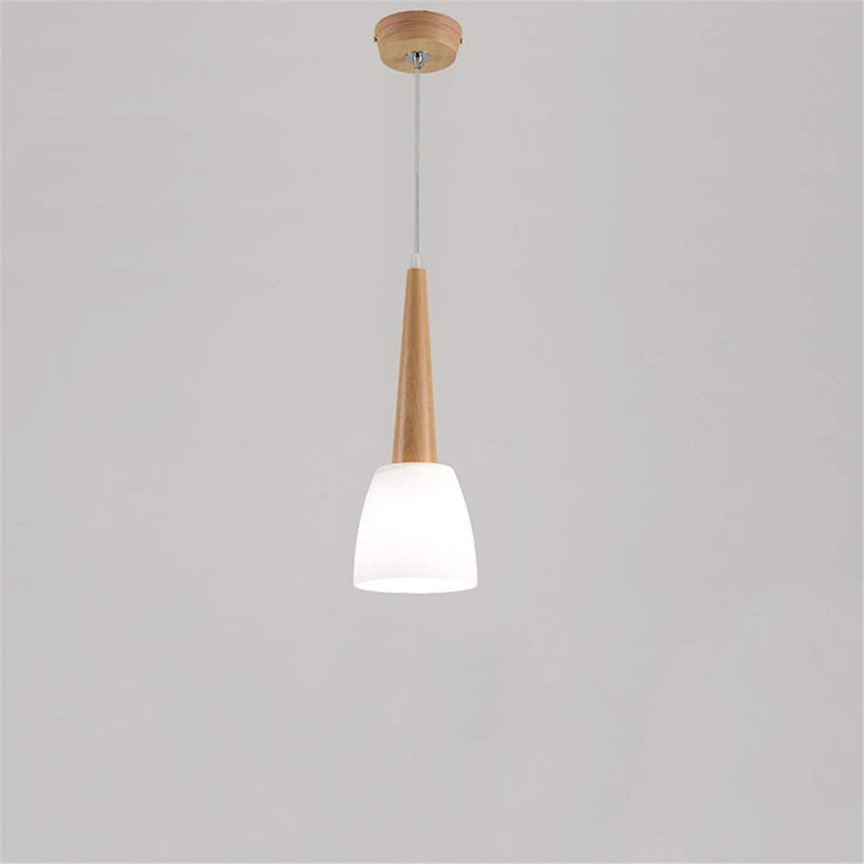 1 3 kpfe holz pendelleuchte moderne e27 halter pendelleuchten led hause leuchten für schlafzimmer esszimmer hanglamp, 1head-kühles wei