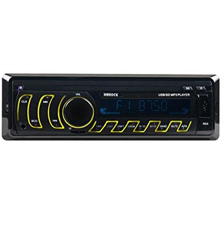 GOFORJUMP 12 V LCD Affichage in-Dash Auto Voiture Radio Lecteur MP3 Véhicule Stéréo Audio Aux Entrée Récepteur Soutien TF FM USB SD