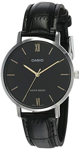 Casio Analog Black Dial Women's Watch-LTP-VT01L-1BUDF (A1626)