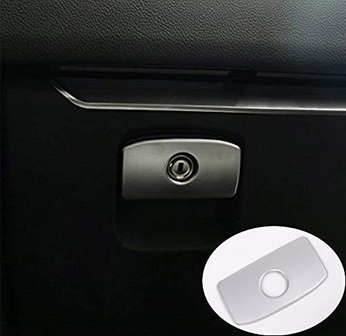 Pour JAG XE XF F-pace F rythme X761 Intérieur ABS Chrome Accessoires Gant Boîte de rangement Poignée Bouton de Trim de Coque