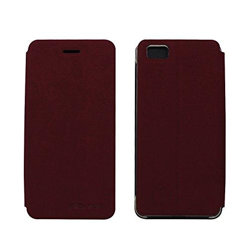 Tasche für Ulefone Future Hülle, Ycloud PU Ledertasche Metal Smartphone Flip Cover Hülle Handyhülle mit Stand Function Rotwein