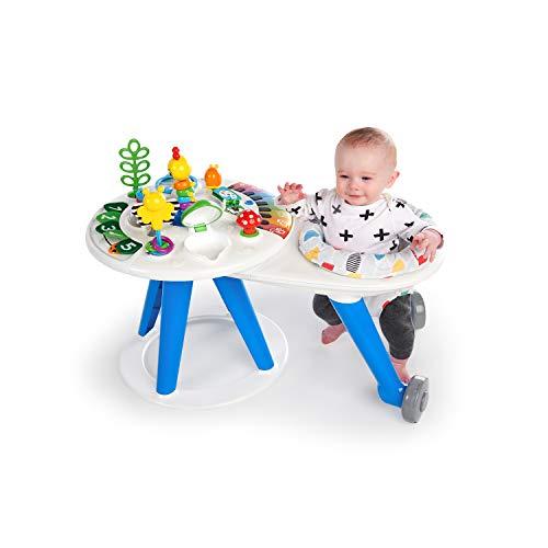 Baby Einstein Around We Grow 4-in-1 Walk Around Discovery Activity Center Table, Ages 6 Months Plus