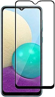 واقي شاشة زجاج مقسى 9 دي بالحجم الكامل مع لاصق كامل لهاتف سامسونج جالكسي ايه 02