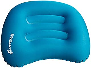CHANODUG Ultralight Inflatable Travel/Camping Pillow Air Cushion/Pad Small Pack - Compressible,  Compact,  Portable,  Ergonomic Pillow for Neck & Lumbar & Back Support While Camp,  Backpacking,  Sleeping