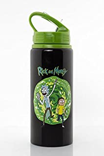 Rick and Morty - Aluminum Water Bottle - Portal