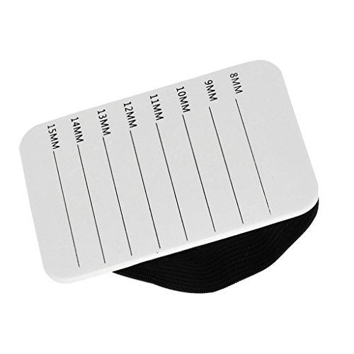 Sharplace Plateau en Plastique de Cils Support pour Extension de Cils Accessoire de Maquillage
