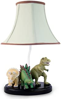 Bright Lights Dinosaur Table Lamp - Fantastic Hand Painted Details