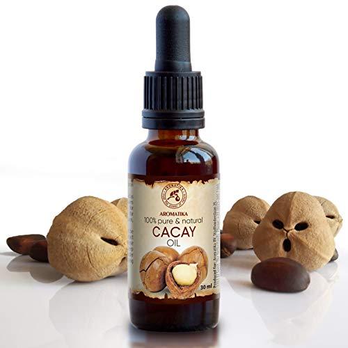 Cacay Öl 30ml - 100% Reine und Natürliche Cacayöl - Kaltgepresst - Cacay-Öl Besten Gesichtöl und Körperöl - Anti-Aging Öl - Cacay Oil