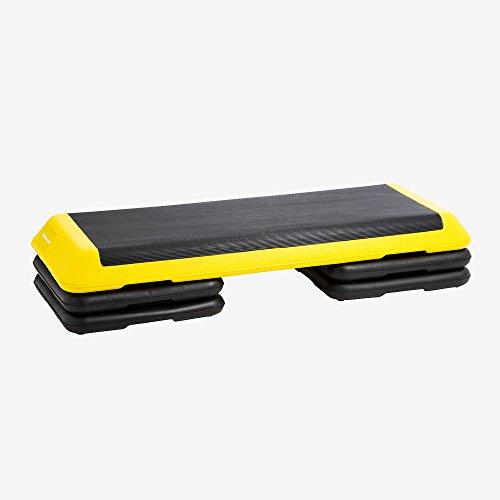ボディメーカー(BODYMAKER) ステップ台 ブラック×イエロー FY008BKYE 陸上競技トレーニング プライオメトリクストレーニング用ボックス プライオボックス ジャンプボックス 下半身 踏み台