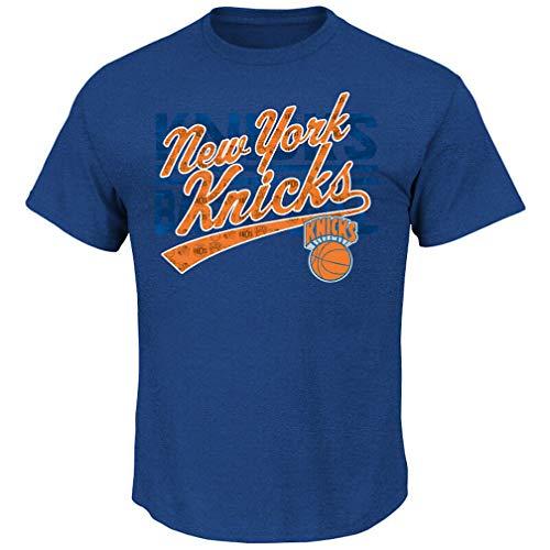 Shirtzshop - Camiseta de manga corta, diseño del VF NBA New York NY Knicks, azul, small