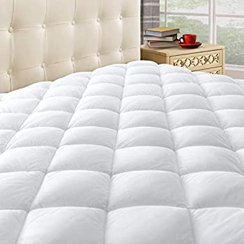 quilted mattress pad full