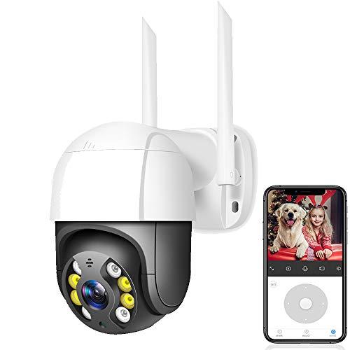 2mp/3mp/5mp 1080p HD Camara Vigilancia Bebe Ptz WiFi CáMara IP Ai DeteccióN Humana Camara De Vigilancia CáMara InaláMbrica H.265 P2p Onvif Seguridad De Audio CáMara CCTV TP Link 1080P+128GCard