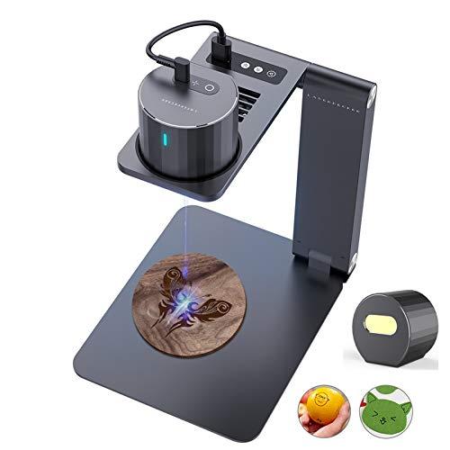 Máquina de grabado mini LaserPecker PRO, kit de grabado láser, grabadora láser, para manualidades, con soporte eléctrico para iOS/Android/1,6 W