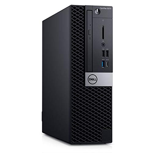 Dell OptiPlex 5070 Small Form Factor PC, Intel Pentium Gold G5420, 8GB RAM, 1TB SATA, DVD-RW, Dell 3 YR WTY + EuroPC Warranty Assist, (Renewed)