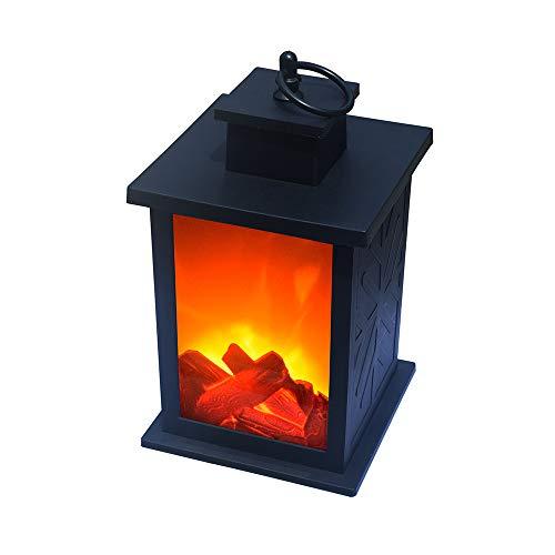 Ajac Led-retro-open haard, simularlicht, vlammeneffect, zaklamp, hangend, decoratie voor binnen en buiten