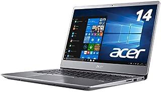 Acer (エイサー) ノートPC Swift 3 SF314-54-A34Q/SF スパークリーシルバー [Win10 Home・Core i3・14.0インチ・Office付き・SSD 128GB・メモリ 4GB]