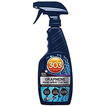 303 Graphene Nano Spray Coating - Next Level Carbon Polymer Protection - Enhances Gloss and Depth - Reduces Water Spotting - Extreme Hydrophobic Protection - Beyond Ceramic 15.5 fl oz  30236CSR