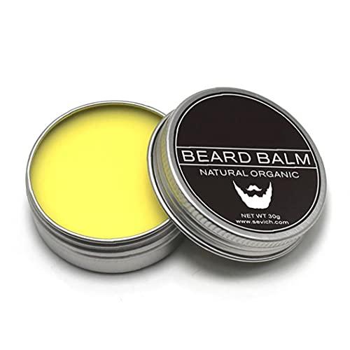 1PC Premium Beard Balm Softener Cream baardgroei Conditioner Moisturizer Wax Natuurlijke Olie En Boter voor Baard Snor Grooming En Styling