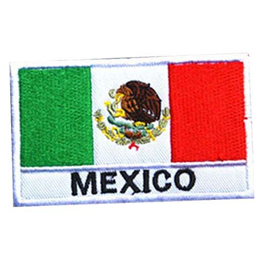 Snner Insignias Bordadas País Bandera De México