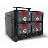Schumacher DSR ProSeries Automatic Smart Battery Charger/Maintainer - 10 Amps, 6V/12V 4-Bank- for Cars, Motorcycles, Lawn Tractors, Power Sports, Marine Batteries