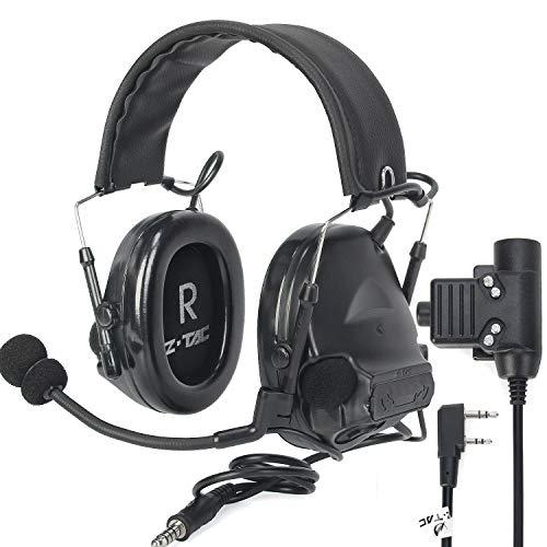 ZTAC zComtac II Ver2.0 - Auriculares de diadema con micrófono y sonido...