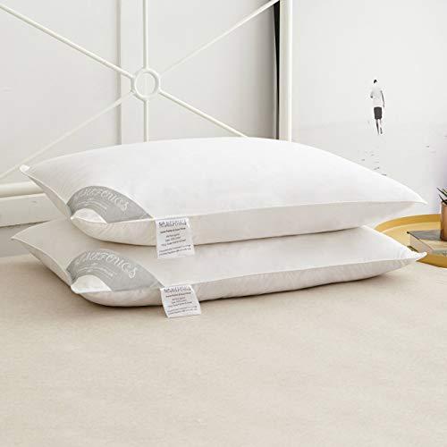 Homefoucs, Kopfkissen, Gänsefedern und Daunen, 2 Stück, 15 % Daunen., 15 % Daunen., 15% Down Pillows