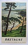 Bretagne Poster, Format 50 x 70 cm, Papier, 300 g,