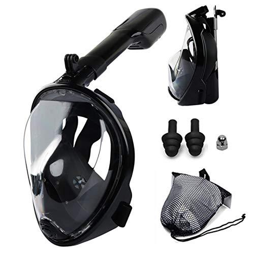 TYHDR Máscara de Buceo de Cara Completa antiniebla para Buceo Submarino, máscaras respiratorias para esnórquel, Equipo de natación Impermeable y Seguro para Adultos y jóvenes