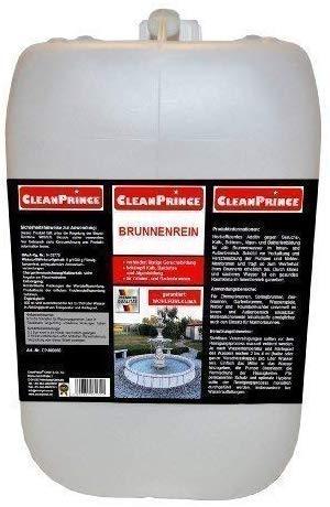 CleanPrince Brunnenrein Brunnenreiniger 5 Liter Algen Wasserklärung Reiniger Brunnen Springbrunnen Gartenbrunnen klären Brunnenklar Brunnenfresh