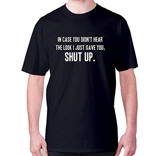 """Camiseta de manga corta para hombre, con texto en inglés """"You Did"""
