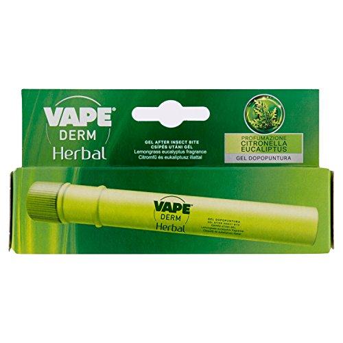 Vape Derm Herbal, Gel Dopopuntura di Insetti - 1 Prodotto