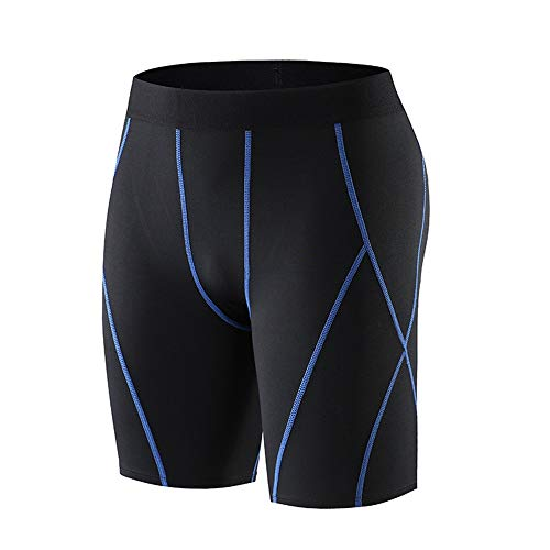 41KsCfcjrZL. SS500  - Yhjkvl Men's Compression Base Layers Shorts Sports Tights Running Fitness Basketball Shorts Quick-drying Breathable…